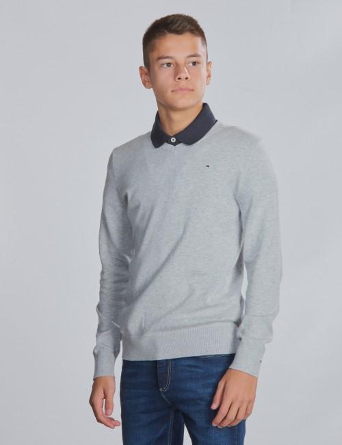 Tommy Hilfiger barnkläder - BOYS BASIC V-NECK