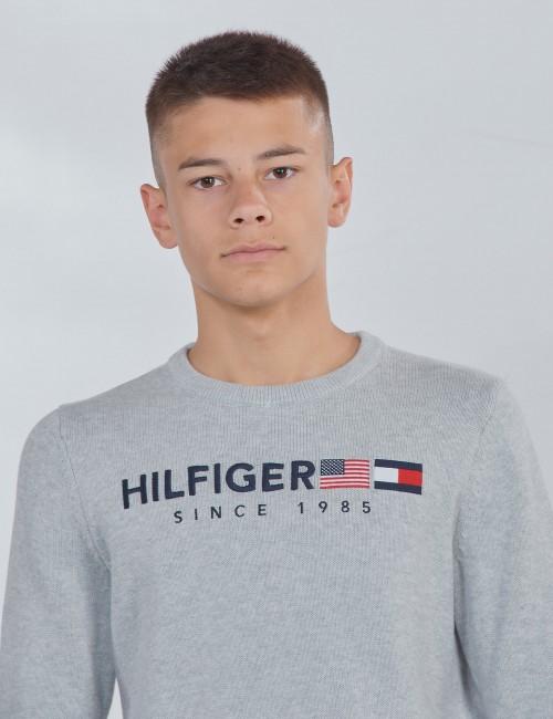 Tommy Hilfiger barnkläder - HILFIGER FLAG SWEATER