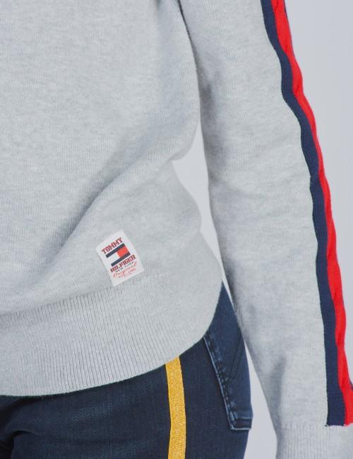 Tommy Hilfiger barnkläder - CABLE SLEEVE SWEATER