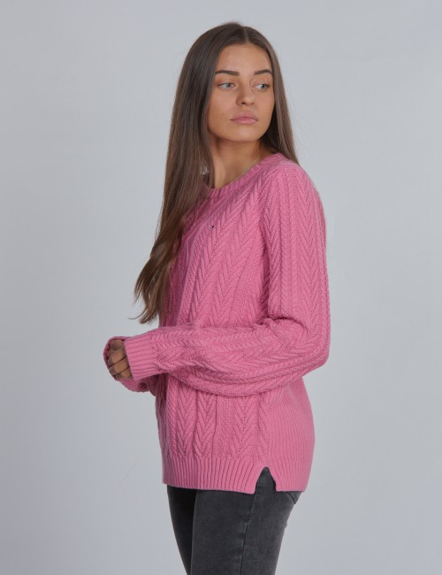 Tommy Hilfiger barnkläder - ICONIC CABLE SWEATER