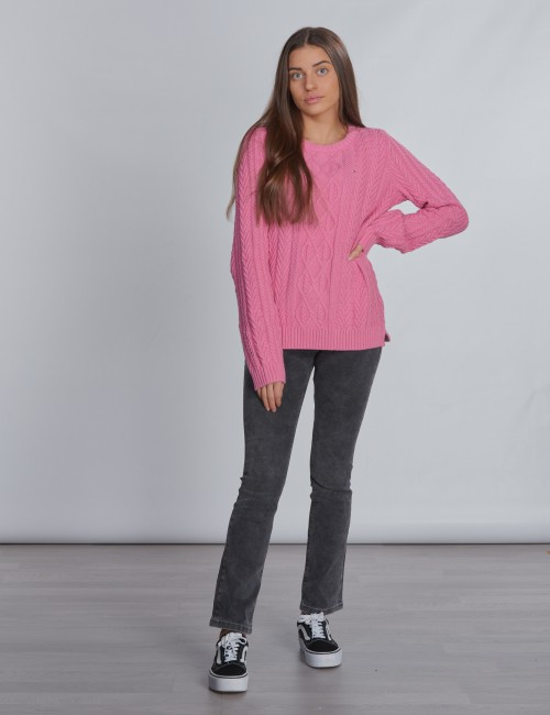 Tommy Hilfiger - ICONIC CABLE SWEATER