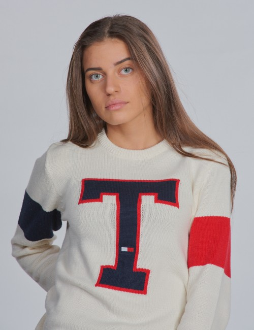 Tommy Hilfiger barnkläder - BADGE SWEATER