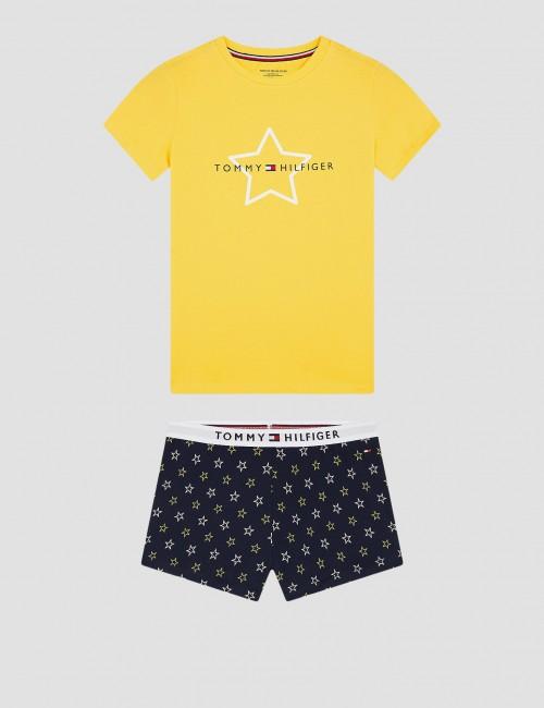 Tommy Hilfiger barnkläder - SHORT SET PRINT
