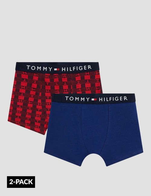 Tommy Hilfiger barnkläder - 2P TRUNK TH CHECK