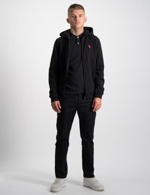 U.S. Polo Assn. barnkläder - Core Fleece Zip BB Hoodie