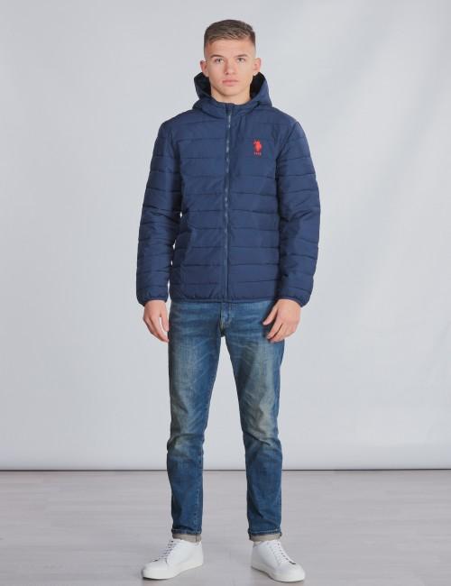 U.S. Polo Assn. barnkläder - Lightweight Puffa Jacket Hooded