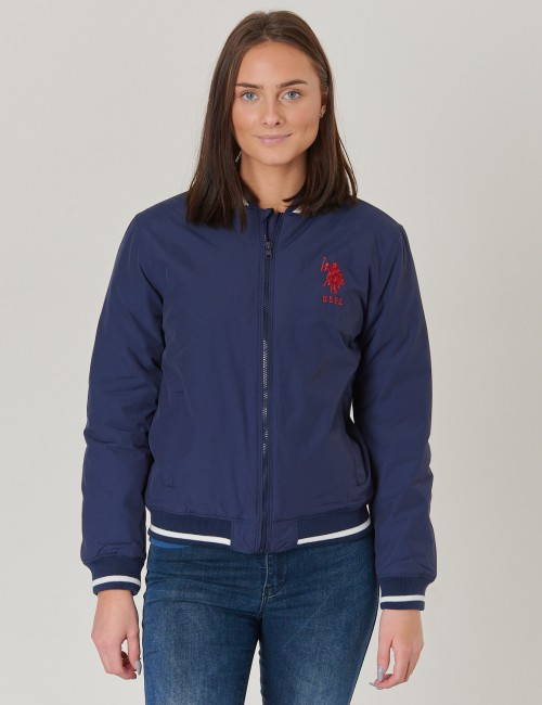 US Polo - Tipped Bomber Jacket