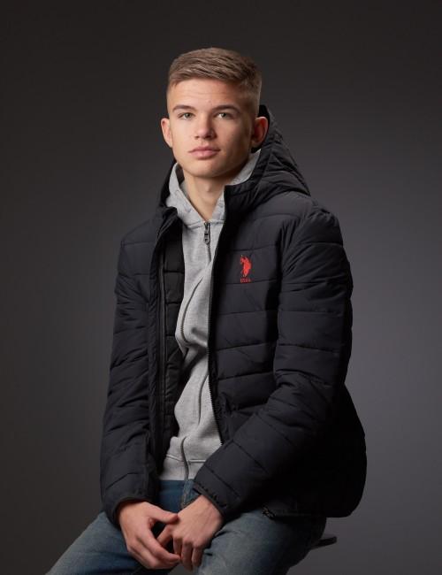 Lightweight Puffa Jacket Hooded