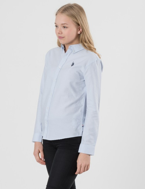 U.S. Polo Assn. barnkläder - Core LS Oxford Shirt