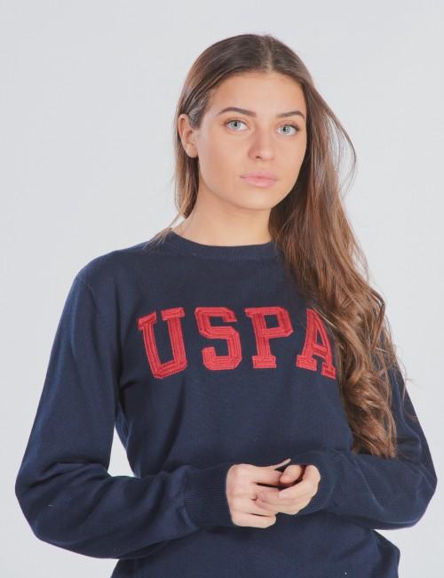 USPA True Knit Crew