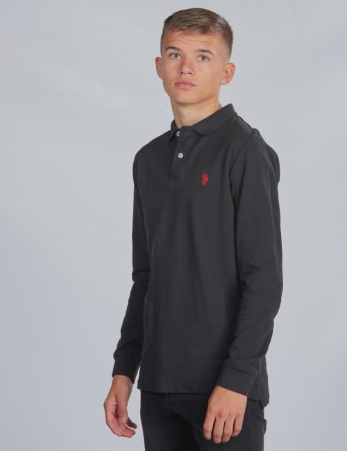 U.S. Polo Assn. barnkläder - Core LS Pique Polo