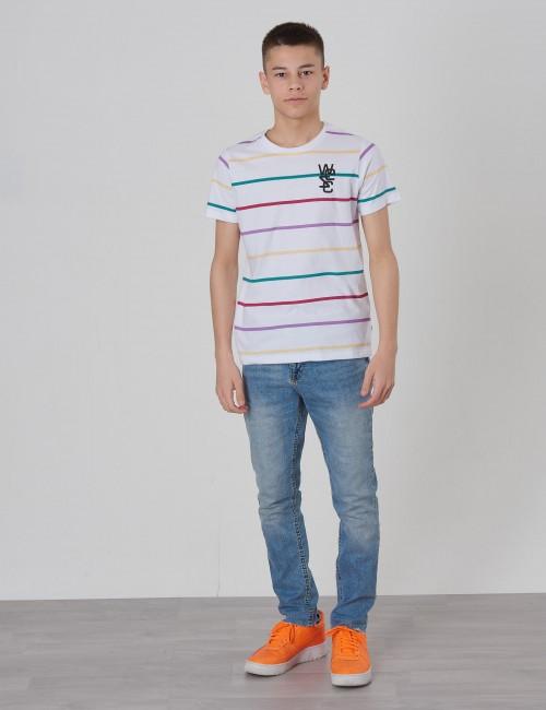 WeSC barnkläder - YARN DYE STRIPE T-SHIRT JR