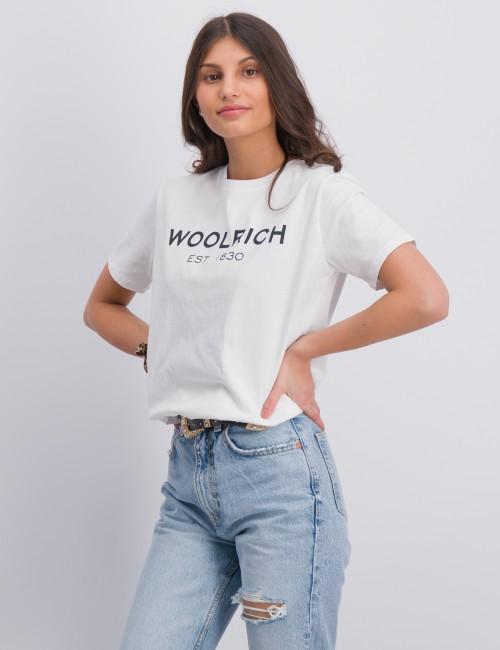Woolrich barnkläder - DIGITAL LOGO TEE